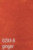 Wzornik kolorów koców - Ginger