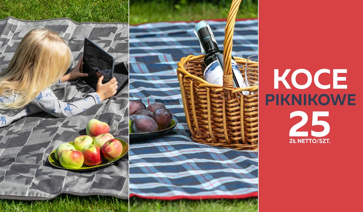 Koce piknikowe - Umipled Białystok